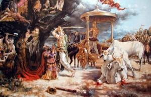 King Parikshit and Kali