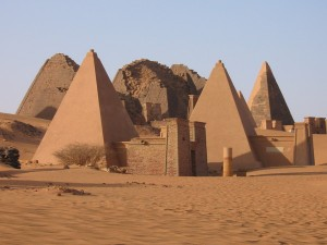 ancient pyramid of kingdom of kush