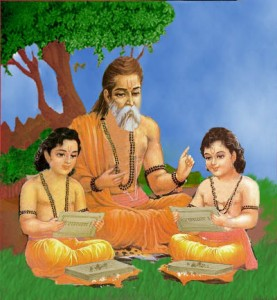 Valmiki tought Lau and Kush epic Ramayana