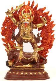 Dharmaraj yama. God of death