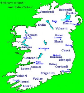 celtic tribes in Ireland