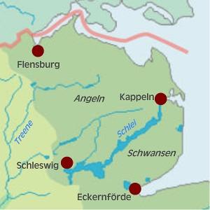 Angeln map