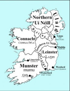 ancient four kingdom of Ireland