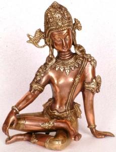 Indra ,leader of Gods