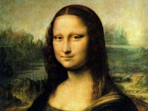 Mona Lisa famous for her mysterious smile