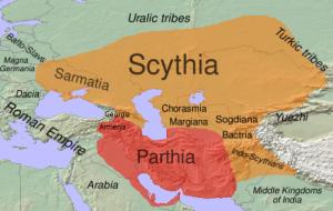 Root word of Saurashtra is Sarmatia