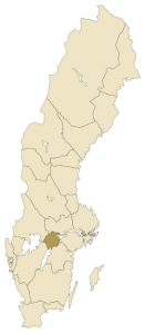 Narke province of Swirge (sweden)