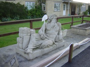 old father Thames -Human personification of river Thames