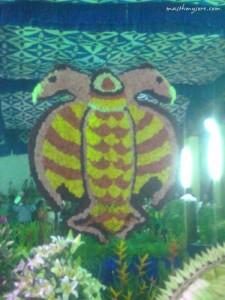 Gandaberunda - at Daeara  flower show