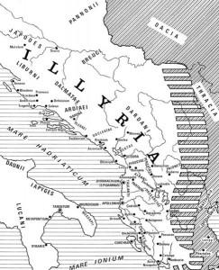Illyria nearby Pannoni